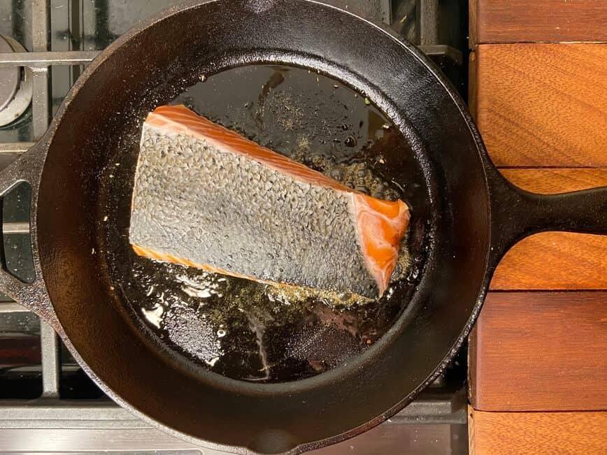Honey Glazed Salmon (Photo by Erich Boenzli)