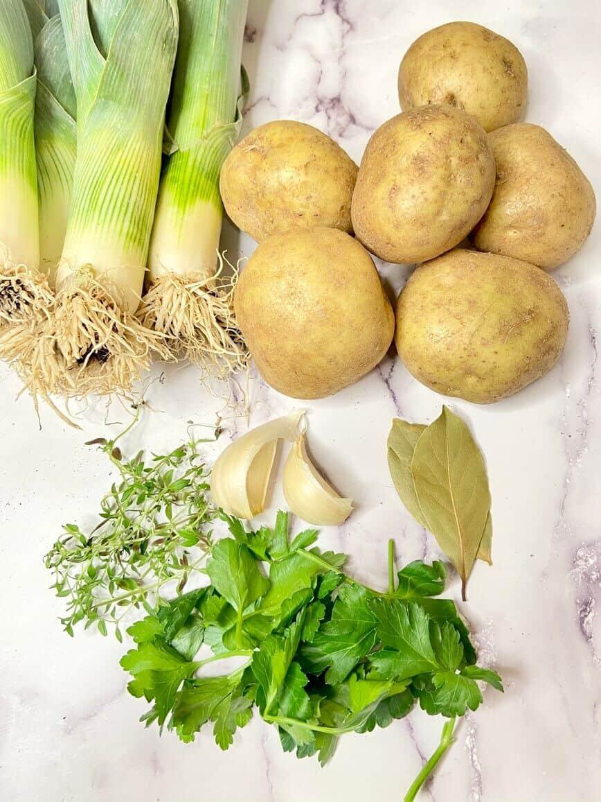 Potato and Leek Soup (Photo by Erich Boenzli)