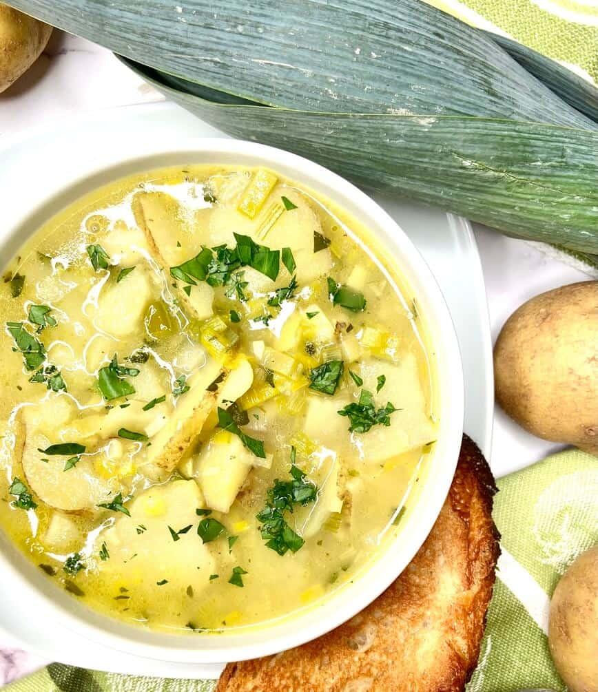 Potato Leek Soup (Photo by Viana Boenzli)