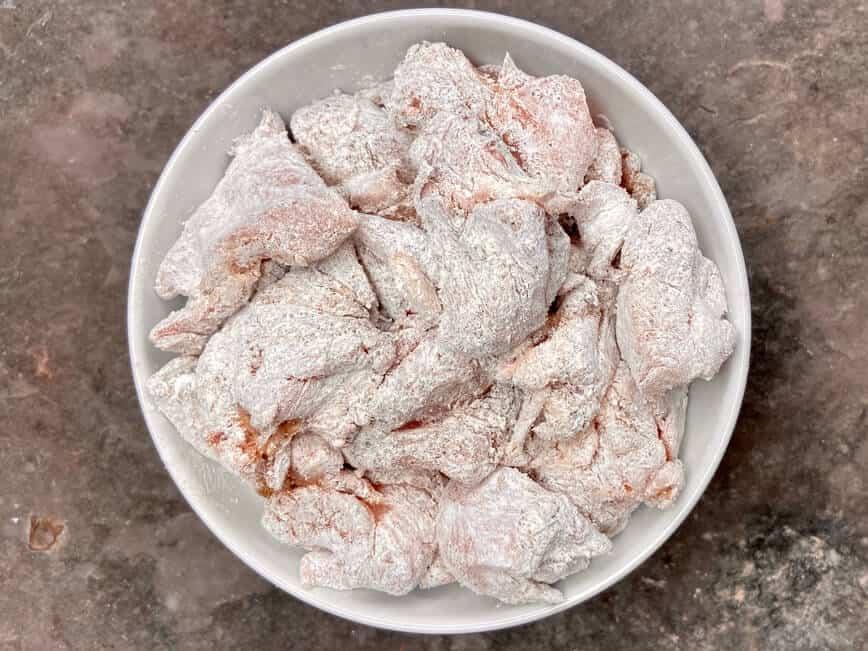 Salt and Pepper Chicken (Photo by Erich Boenzli)