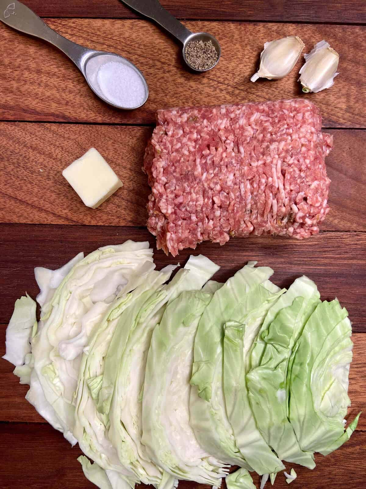 Cabbage and Sausage Casserole Recipe (Photo by Erich Boenzli)
