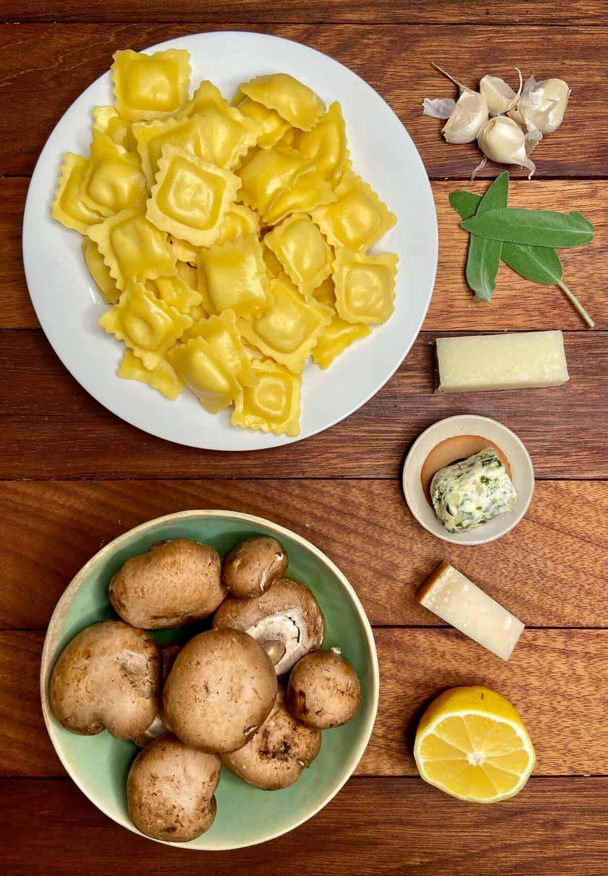 Crispy Ravioli Formaggi (Photo by Erich Boenzli)