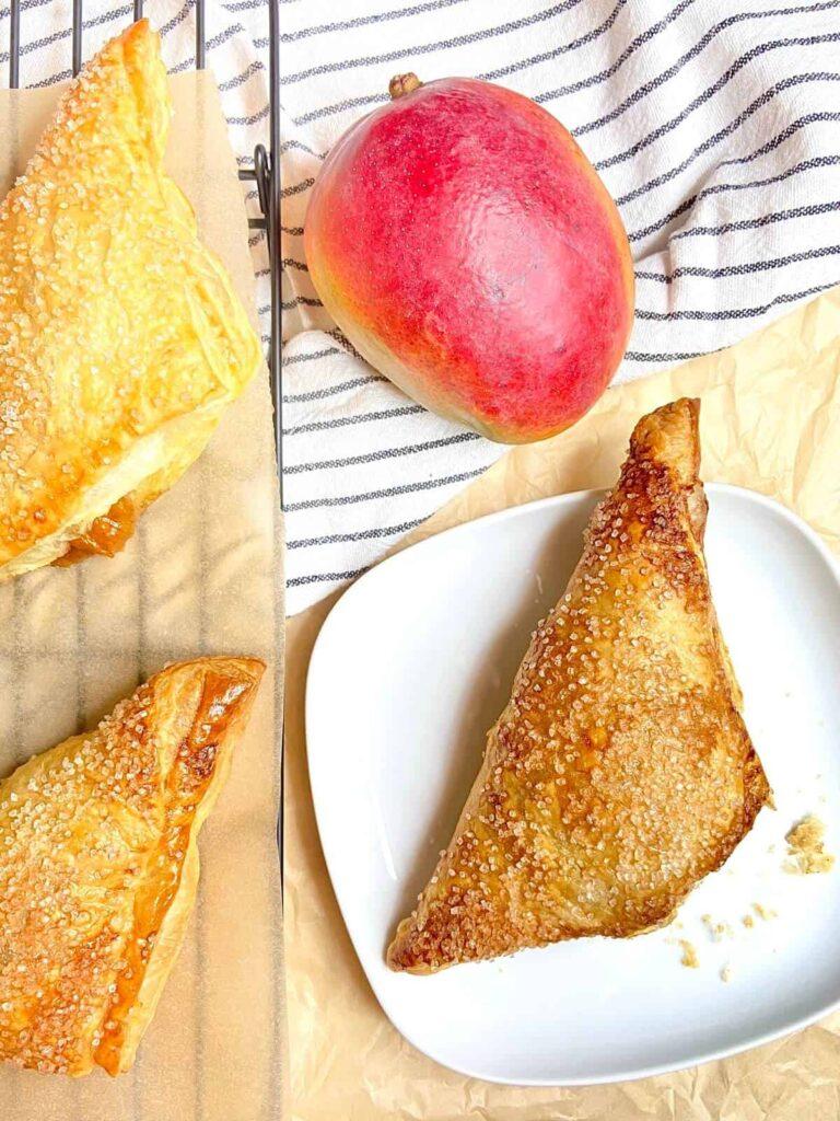 Peach Mango Turnovers (Photo by Viana Boenzli)
